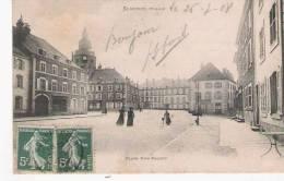 SENONES (VOSGES)  PLACE DOM-CALMET   1908 - Senones