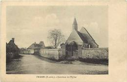 Departement Div- Eure Et Loir  -ref F218- Friaize - Carrefour De L Eglise  - Carte Bon Etat - - Frankrijk