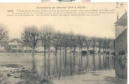 INONDATIONS JANVIER 1910 - Sens