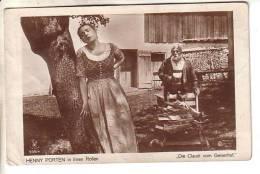 """GOOD OLD """" Film Sterne """" #509/4 POSTCARD - MOVIE STAR HENNY PORTEN In Moviescene - Schauspieler"""