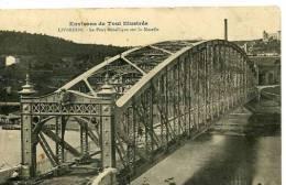 Liverdun  Pont Métallique Sur La Moselle - Liverdun