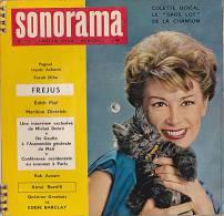 33 Tours - SONORAMA - N° 15 - Janvier 1960 - Pagnol - Achard - Farah Diba - FREJUS - Piaf - Dietrich - Debré - De Gaulle - Limitierte Auflagen
