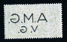 AMG-VG Decalco Della Soprastampa  Sass Expressi 1e ** MNH - 7. Triest