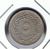 EGIPTO -   5/10 Qirsh 1293/29   KM291 - Egipto