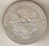 MONEDA DE PLATA DE ESTADOS UNIDOS DE 1 ONZA DEL AÑO 1993 (COIN) SILVER-ARGENT - 1921-1935: Peace