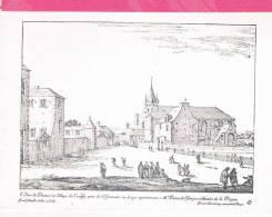 78 : Vue Du Prieuré Et Du Village De CROISSY Prés  ST GERMAIN EN LAYE  Apartenant à MR PATOCLE écuyer De La Reine - Croissy-sur-Seine