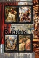 ugn12204a Uganda 2012 Peter Paul Rubens Painting s/s