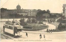 54 , NANCY , Square Godefroy De Bouillon Et Le Bon Pasteur , * 228 98 - Nancy