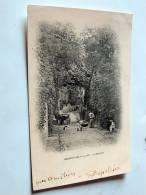 Carte Postale Ancienne : BRUNOY-LES-VALLEES : A Malakoff , Animé - Brunoy