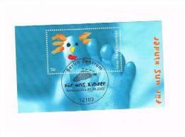Deutschland Block 60 Für Uns Kinder 2002 Berlin Zentrum Erstausgabe - [7] Federal Republic