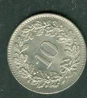 10 CENTIMES SUISSE DE 1962  - Pieb 5704 - Schweiz