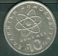 1992 - Grèce - 10 Drachmes  - Pieb 5708 - Grèce