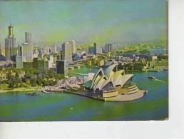 AERIAL VIEW OF SYDNEY OPERA HOUSE  OHL - Sydney