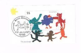 Deutschland Block 64 Für Uns Kinder 2003 Berlin Zentrum Erstausgabe - [7] Federal Republic