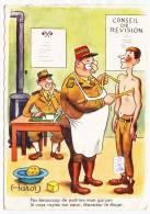 CPM GF - I13498-llustration  Militaria Humour Sur Le Conseil De Révision ( Petits Défauts)-Envoi Gratuit - Humor