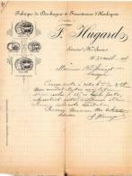 74- Scionzier (Cluses) F.Hugard. Fabrique De Décoltages Et Founitures D'Horlogerie.Haute-Savoie. - 1900 – 1949