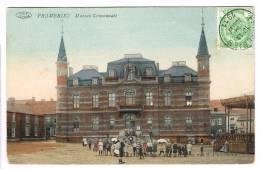 "Postkaart / Carte Postale ""Frameries - Maison Communale"" - Frameries"