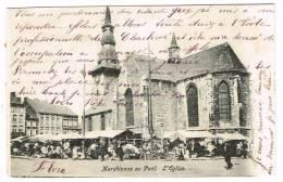 "Postkaart / Carte Postale ""Marchienne-au-Pont - L'Eglise"" - Charleroi"