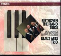 X BEETHOVEN THE PIANO TRIOS BEAUX ARTS TRIO 5 CD PHILIPS IN COFANETTO - Classica