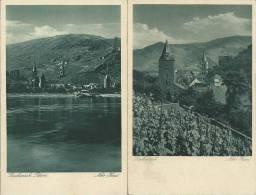 32Ch   Allemagne Bacharach Rhein Lot De 2 Cpa (niko Haas) - Koeln