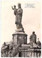 17T - LE PUY - Statue Colossale De Notre-Dame De France - Animée - CPSM N&B 1962 - Scan Recto-verso - Le Puy En Velay