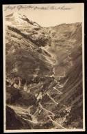 GRUPPO DEL´ ORTLER - STRADA DELLO STELVIO ( Trento ) Viaggiata 1928 - Italy