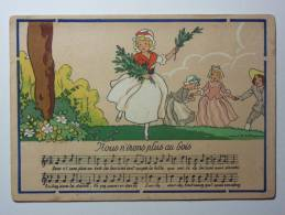 B4335 * Illustration.  JACK. Les Rondes Enfantines. Nous Irons Plus Au Bois - Illustrateurs & Photographes