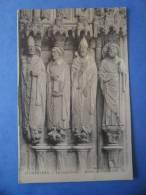 28-CHARTRES La Cathédrale , Détail Du Portail Sud , Dos Vert - Chartres