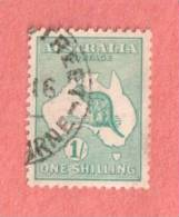 AUS SC #42  1915 Kangaroo And Map   Nicely Centered, CV $35.00 - Used Stamps