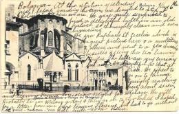 BOLOGNA - Chiesa S. Francesco E Tomba Dei Glossatori +++ Vers Jefferson, IOWA, USA, 1901 +++ Postcard - Trades-Union +++ - Bologna