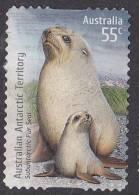 2009. AAT. Species At Risk. Joint Territories Issue. 55c. Sub-Antarctic Fur Seal. FU. - Territoire Antarctique Australien (AAT)