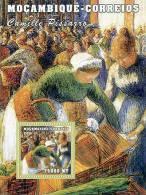 M1241 Mambique 2001 Art Painting S/s Camille Pissaro Michel: 2167 Scott: 1504 - Impressionisme