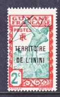 Inini 2    * - Unused Stamps