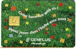 CARTE A PUCE GEMPLUS CARTES 98 - Télécartes