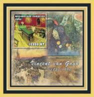 M1251d Mambique 2001 Art Painting S/s Vincent Van Gogh - Impressionisme