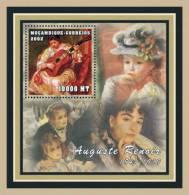 M1254c Mambique 2001 Art Painting S/s Auguste Renoir - Impressionisme