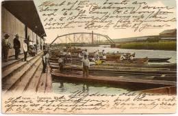 MEXICO - TAMPICO - Rio Tamesi ++++ Vers NEWARK, NJ, USA, 1906 ++++++++ - Mexique