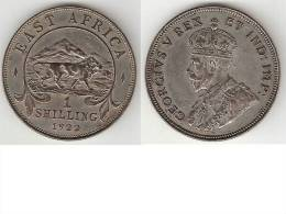 *east Africa   1 Shilling  1922 Km 21   Xf !!!! - British Colony