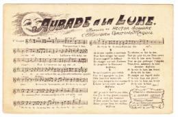 Lot De Cinq Partitions Et Paroles De Chansons Populaires Françaises - Pas Circulé, Cpsm 9x14 - Frais De Port=1.50€ - Musique Et Musiciens