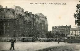 92-HAUTS DE SEINE--MONTROUGE / PORTE D ORLEANS   ECRITE ‹(•¿• )› - Montrouge