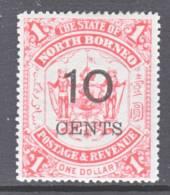 North Borneo  75  * - North Borneo (...-1963)