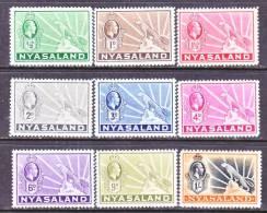 Nyasaland  38-46   * - Nyasaland (1907-1953)