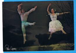 CP - Danseurs- Rudof Noureev, Merle Park- La Fête Des Fleurs à Genzano - Kim Camba- - Illustrateurs & Photographes