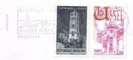 Sur Enveloppe - Dardilly - Rodez - Ussel - Cachet Rond - 2003 - (G331) - Sellados Mecánicos (Publicitario)