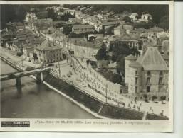 PHOTO .15X20 CM. TOUR DE FRANCE 1938 LES COUREURS PASSENT A PEYREHORADE - Cyclisme