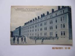 CPA Animée De BESANCON  ( 25 )  Caserne Charmont - 60 ème RI - Bt De La CHR ......  ( DOCBI394 ) - Besancon