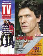 "Marc Lavoine  ""  TV Magazine  "" - Gente"