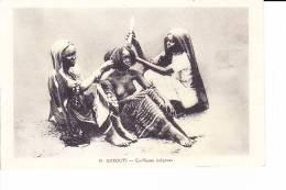 DJIBOUTI  --  Coiffeuses Indigènes - Cartes Postales