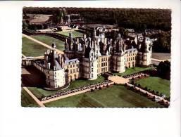 Les Merveilles Du Val De Loire Chambord 1.811 Le Chateau Vu D'avion - Chambord
