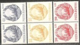 Romania 1967 Nuovo** - Mi.2631/33 Serie Completa;  Coppia - 1948-.... Repubbliche